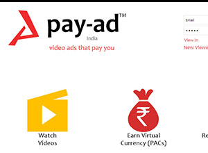 Pay-Ad (PHP Coded Video Website)